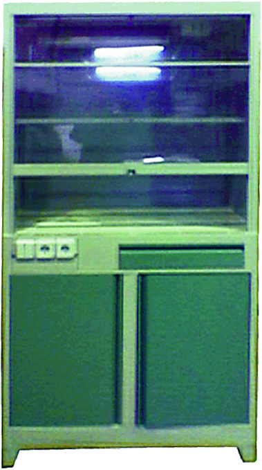 Шкаф металлический с вытяжным устройством ТЕ-1-3-020.00
