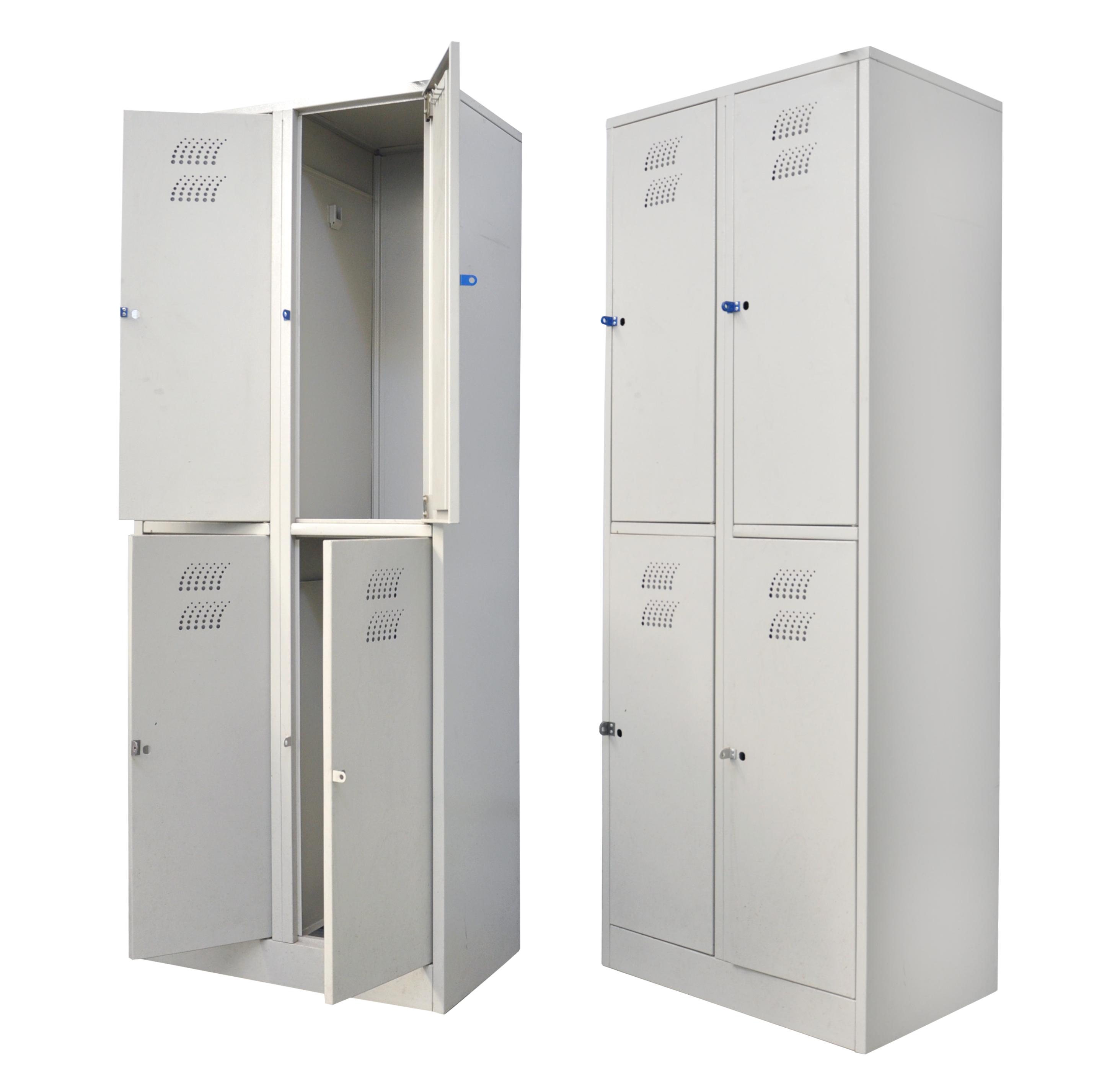 Металлический платяной шкаф ТЕ-1-1-003.00