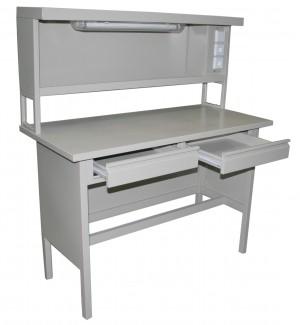 Стол металлический лабораторный физический