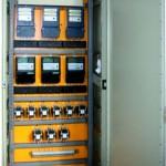 Шкаф распределения счетчиков