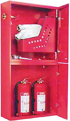 Шкаф для пожарного крана навесной