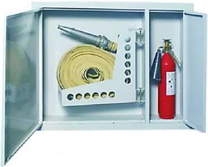 Шкаф для пожарного крана встроенный