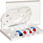 Пластиковый короб ёмкостью до 4 оптических портов