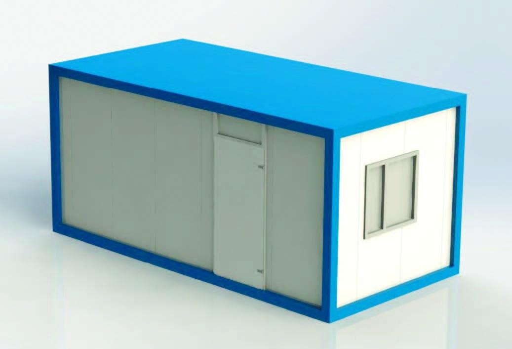 Блочно-модульные здания для КТПП