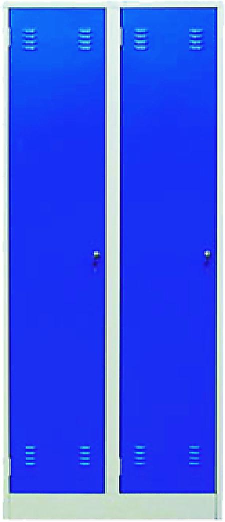 Шкаф металлический платяной (ТЕ-1-1-002.00)