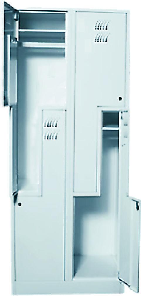 Шкаф металлический платяной (ТЕ-1-1-003.01)