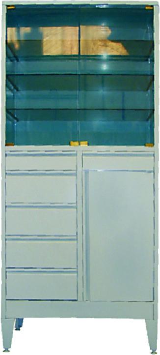 Шкаф металлический (ТЕ-1-3-018.00)