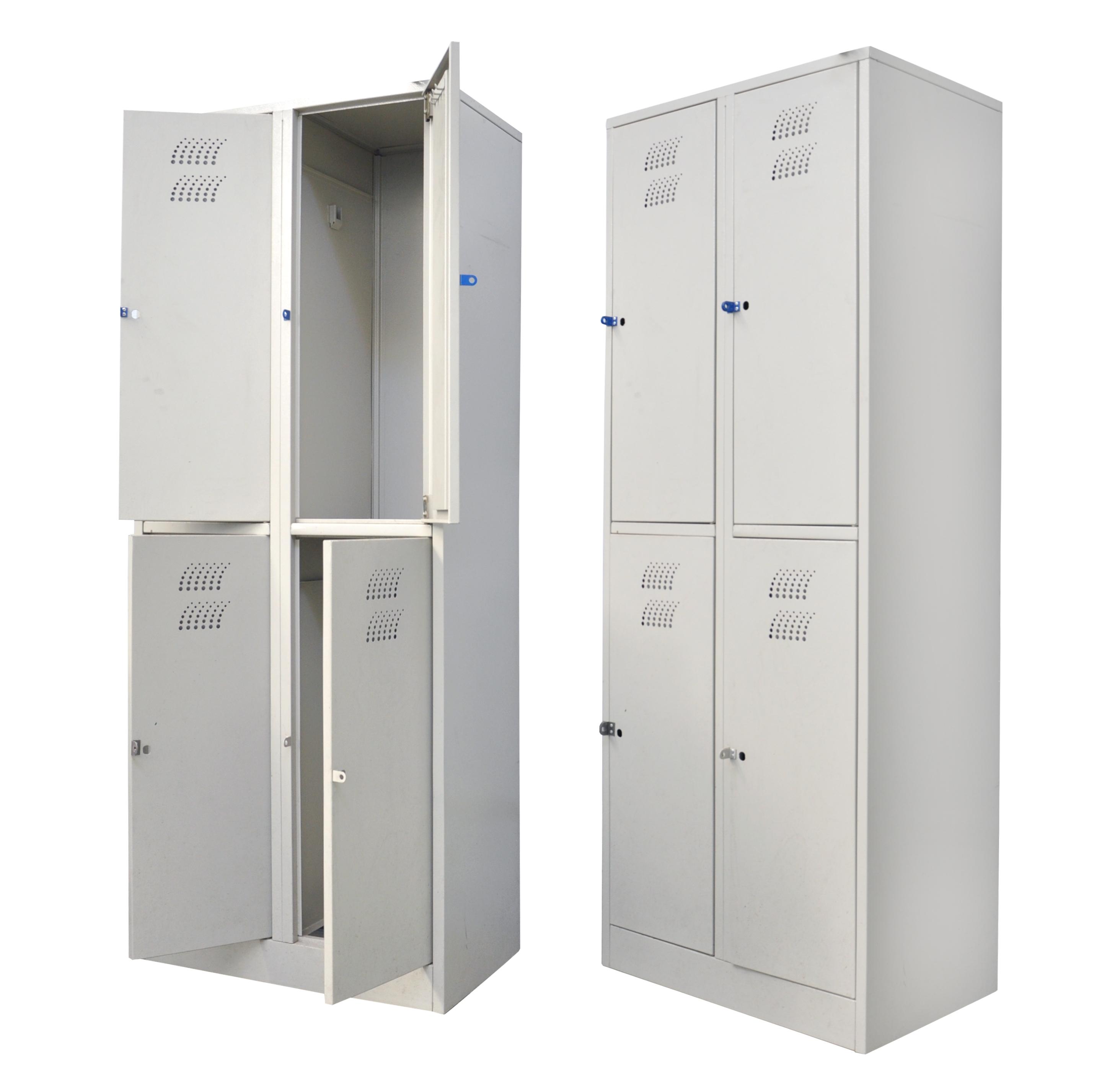 Шкаф металлический платяной (ТЕ-1-1-003.00)