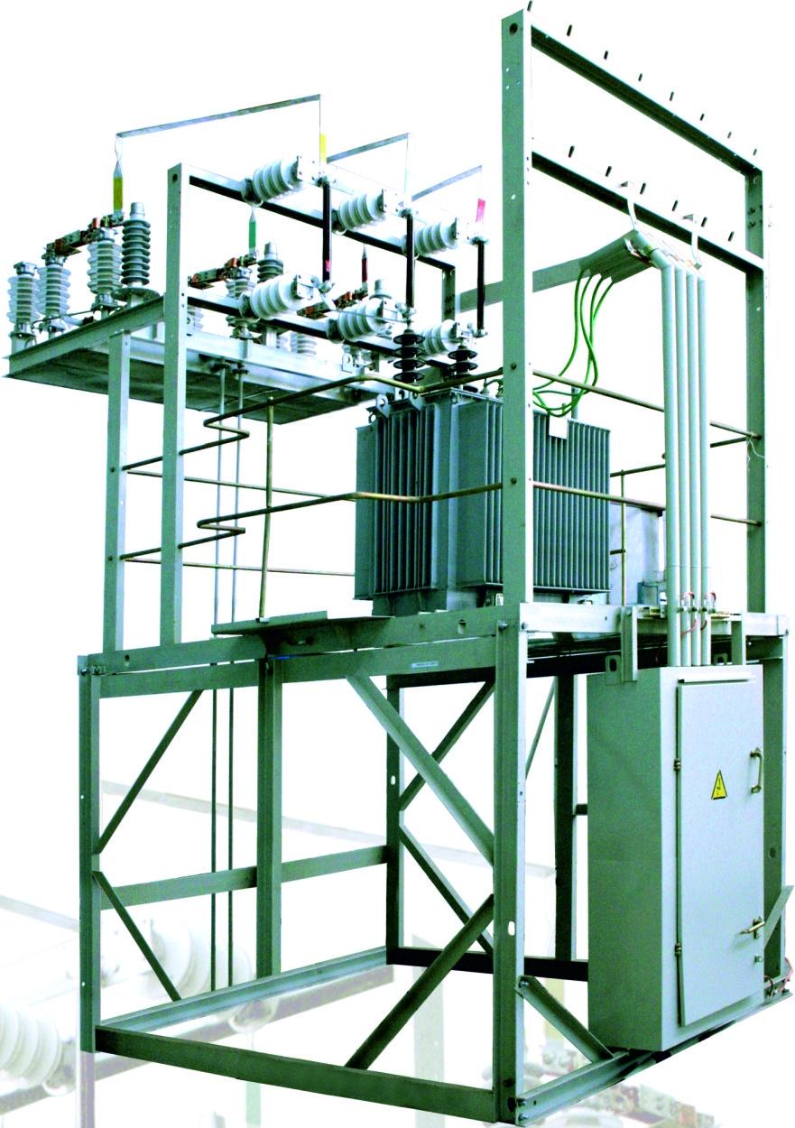 Комплектная трансформаторная подстанция универсальная (КТПУ)