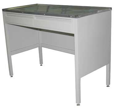 Стол металлический (ТЕ-1-4-027.03-D)