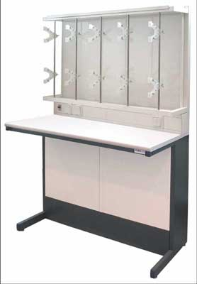 Стол металлический для титрования (ТЕ-1-4-027.04-D)