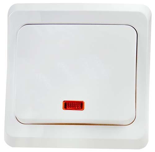 Выключатель одноклавишный с индикацией (ВC10-005)